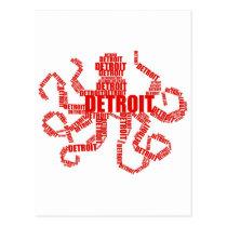 Detroit Octopus Postcard
