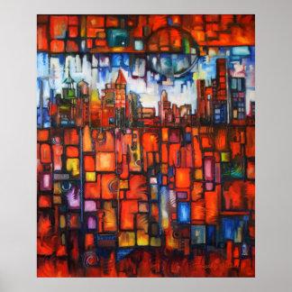 Detroit on My Mind IV Canvas Print