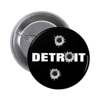 Detroit Pin Redondo 5 Cm