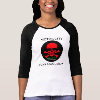 Detroit Pirate Radio Ladies Softball Team T-Shirt