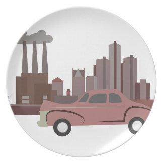 Detroit Plate