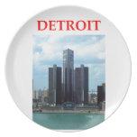 Detroit Plato De Cena