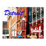 Detroit Postcard1 Post Card
