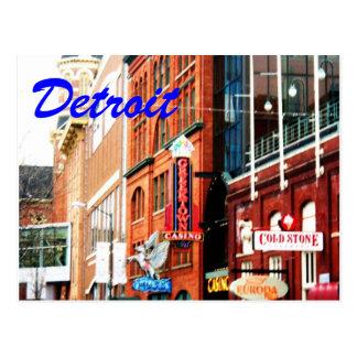 Detroit Postcard1 Postcard