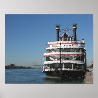 Detroit Princess Riverboat Poster
