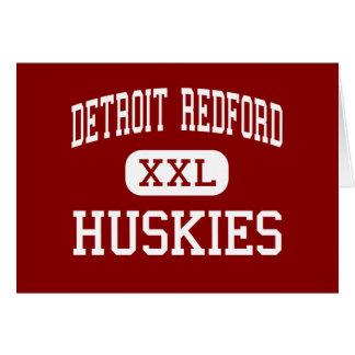 Detroit Redford - perros esquimales - alto - Detro Tarjetas