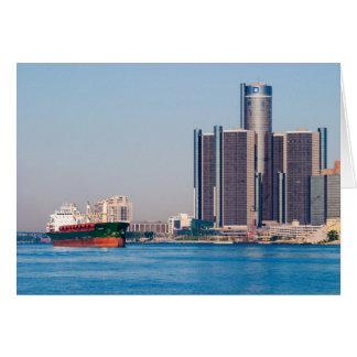 Detroit Renaissance Center Card