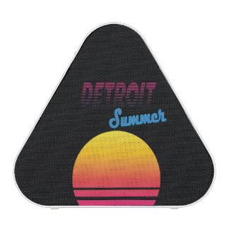Detroit  retro vintage shirt, #Detroit Bluetooth Speaker