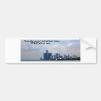 Detroit Rising Bumper Sticker