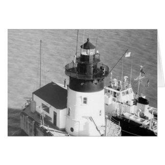 Detroit River Lighthouse Card