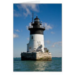 Detroit River Lighthouse Greeting Card