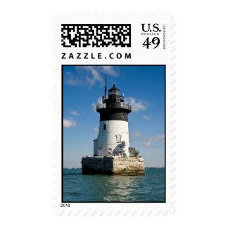 Detroit River Lighthouse Postage