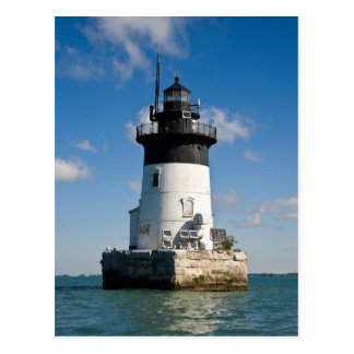 Detroit River Lighthouse Postcard