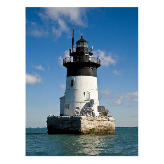 Detroit River Lighthouse Postcard