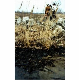 Detroit River Oil Spill Damage Acrylic Cut Out