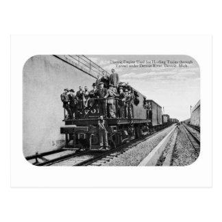 Detroit River Railroad Tunnel Postcards