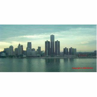 Detroit Riverfront Photo Sculpture