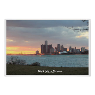 Detroit Riverscape Posters