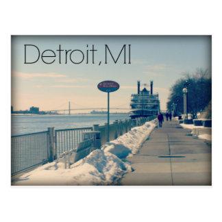 Detroit Riverwalk Postales