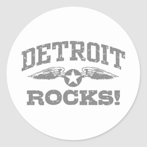 Detroit Rocks Stickers