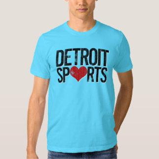 Detroit se divierte la camiseta poleras
