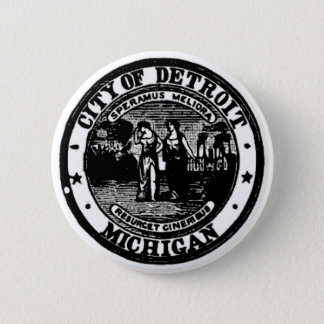 Detroit Seal Button