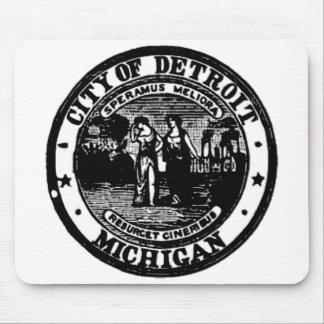 Detroit Seal Mouse Pad