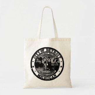 Detroit Seal Tote Bag