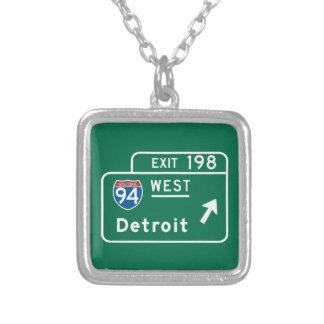 Detroit, señal de tráfico del MI Grimpolas Personalizadas