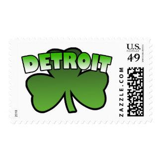 Detroit Shamrock Stamps