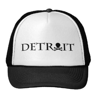 Detroit Skull Hat