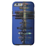Detroit Skyline at Night Tough iPhone 6 Case