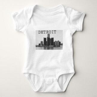 Detroit Skyline Baby Bodysuit