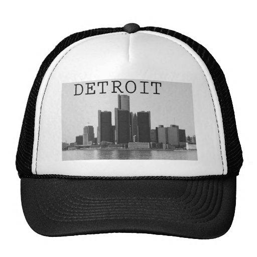 Detroit Skyline Hat