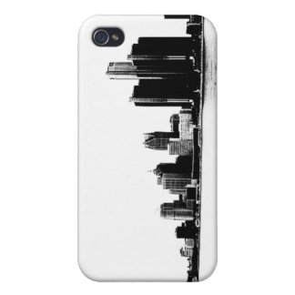 Detroit Skyline iPhone 4 Case