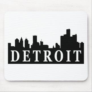 Detroit Skyline Mouse Pad