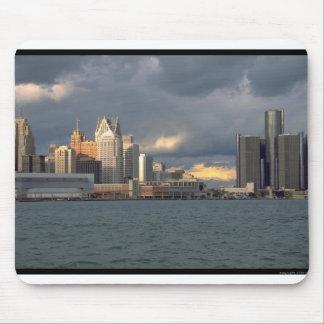 Detroit Skyline Mouse Mats