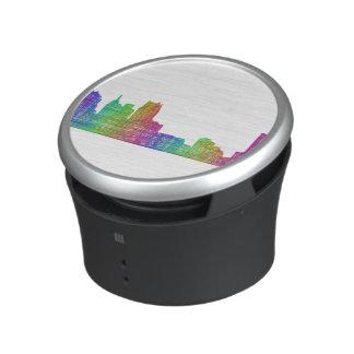 Detroit skyline speaker