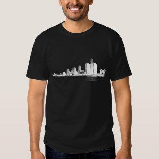 Detroit Skyline T Shirt
