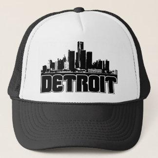 Detroit Skyline Trucker Hat