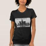 Detroit Skyline Tshirt