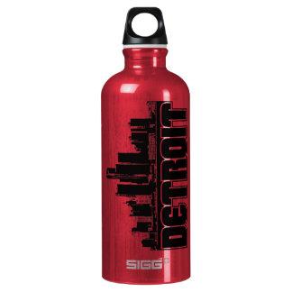 Detroit Skyline Water Bottle