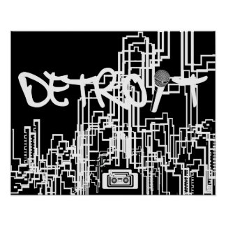 Detroit Speaks Poster