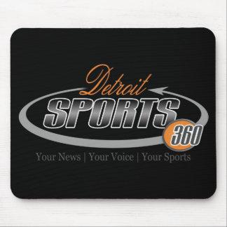 Detroit Sports 360 Mouse Pad