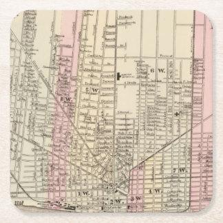 Detroit Square Paper Coaster
