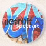 Detroit Street Art Drink Coaster