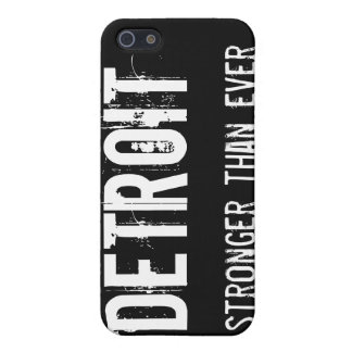 Detroit - Stronger than Ever Case For iPhone SE/5/5s