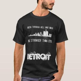 Detroit - Stronger than Ever - Skyline T-Shirt