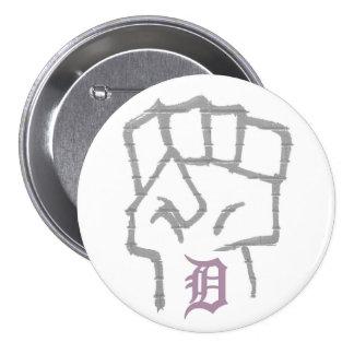 Detroit Struggle (button) Pinback Button