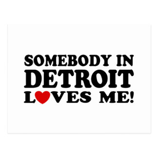 Detroit Tarjeta Postal